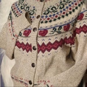 Eddie Bauer Vintage Rose Sweater